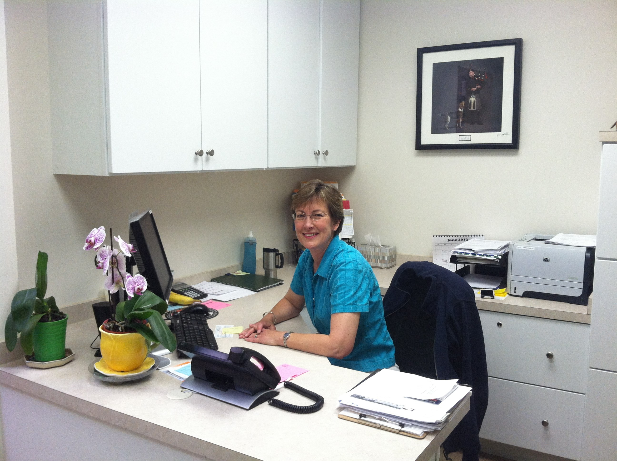 Sharon Wendelgass, Hospital Administrator