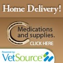 Get pet medications and supplies delivered to your home
